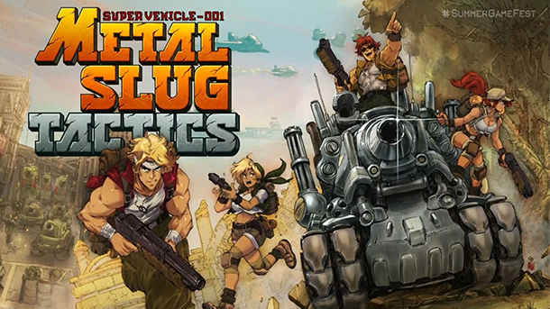 Metal Slug Kembali Dengan Tajuk Tactics Untuk Kamu Yang Suka Mengatur Strategi!