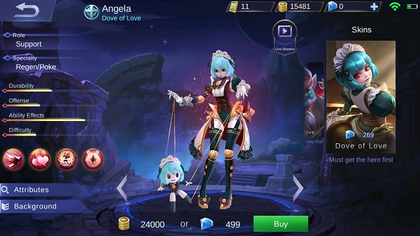Heroes With This Specialty Have The Ability To Regenerate Hp Itself And Hero In Your Team Examples Rafaela Estes And Angela Have The Skills To