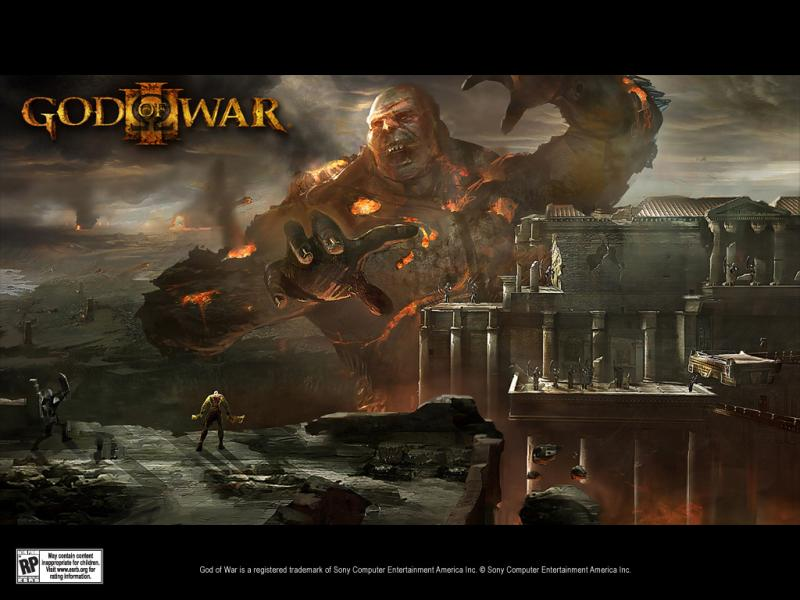 wallpaper god of war 3. God of War III - Wallpaper