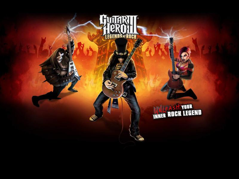 guitar hero wallpaper. Guitar Hero III: Legends of