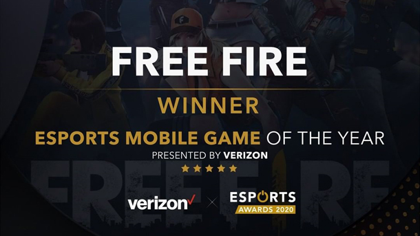 Free Fire Sabet Penghargaan Esports Mobile Game Of The Year di Esports Awards 2020