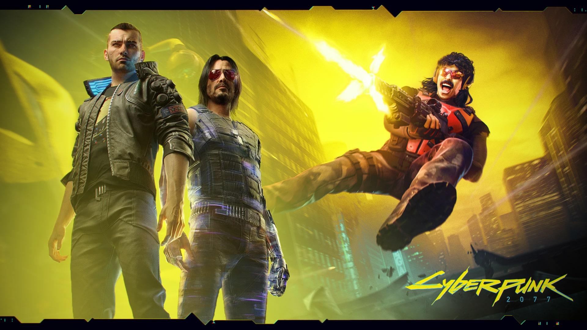 Bukan Cuma Keanu Reeves Dr. Disrespect Kemungkinan Juga Akan Muncul di Cyberpunk 2077