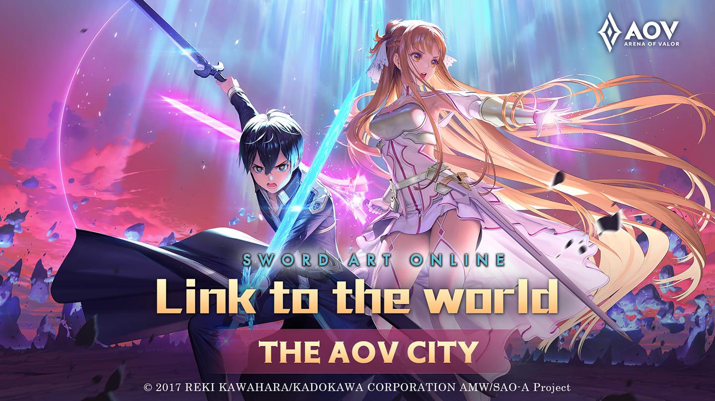 Season Berlanjut! AOV kembali Kolaborasi dengan SAO Hadirkan Kirito dan Asuna dari Arc Alicization