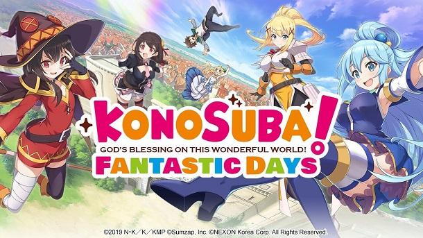 """Mobile RPG """"KonoSuba: Fantastic Days"""" Dipastikan Rilis Secara Global"""