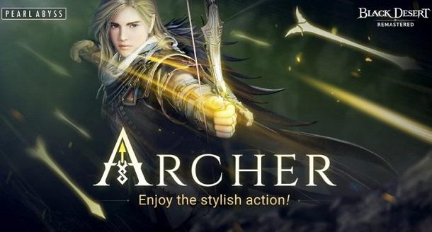 Berita : Gamer Sudah Bisa Mainkan 'Archer' di Black Desert
