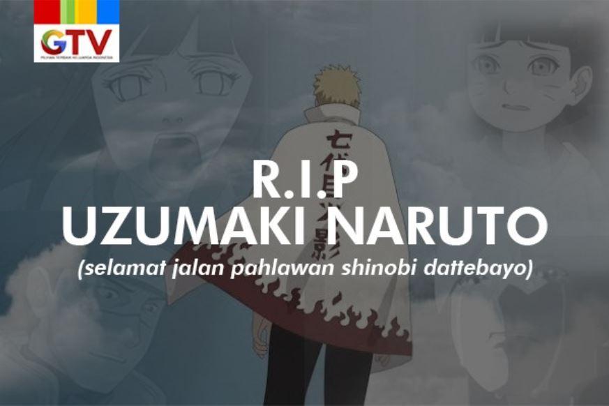 Raikage Tersenyum GTV Turut Ucapkan Belasungkawa Atas Kematian Uzumaki Naruto