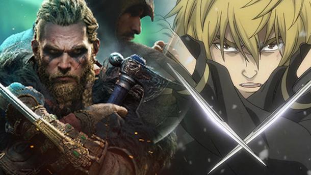 Sama-sama Bertema Viking Assassin's Creed Valhalla Berkolaborasi dengan Manga Vinland Saga