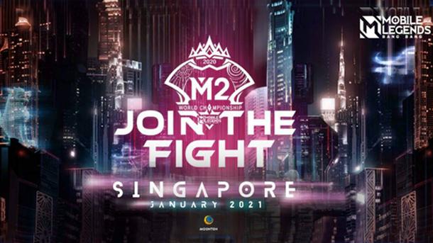 Resmi! Turnamen Mobile Legends Kancah Internasional M2 akan Digelar pada Januari 2021 di Singapura