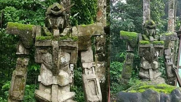 Hasil gambar untuk patung gundam di indonesia