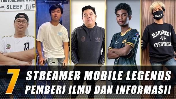 Tambah Jago dan Pintar Ini Dia 7 Streamer Mobile Legends Pemberi Ilmu dan Informasi